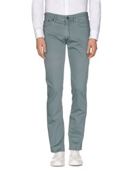 Versace Collection Trousers Casual Trousers Men Military Green