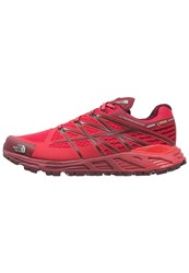 The North Face Ultra Endurance Gtx Trail Running Shoes Melon Red Biking Red