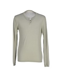 Spina Knitwear Jumpers Men Light Green