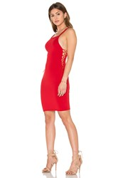 Motel Picton Dress Red