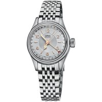 Oris 01 594 7695 4061 07 8 14 30 Men's Big Crown Original Pointer Date Bracelet Strap Watch Silver