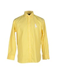 Ralph Lauren Black Label Shirts Shirts Men Yellow