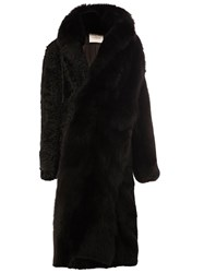 A.F.Vandevorst Mid Length Coat Black