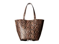 Marc Jacobs Snake Wingman Shopping Light Snake Multi Handbags Brown