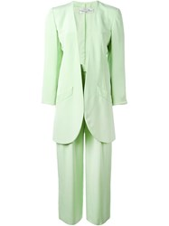 Christian Dior Vintage Trouser Suit Green