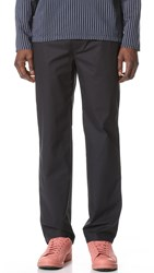 Our Legacy Relaxed Cotton Trousers Navy