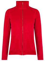 Lygia And Nanny High Collar Jacket Red