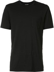 Wings Horns Pocket T Shirt Black