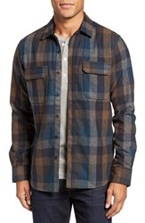 Jeremiah Men's Heath Brushed Flannel Shirt