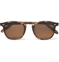 Kingsman Cutler And Gross D Frame Acetate Sunglasses Tortoiseshell