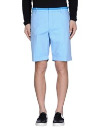 Incotex Trousers Bermuda Shorts Men Azure
