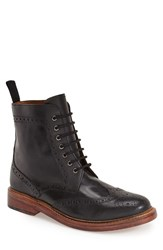 Men's Lotus 'Dunford' Wingtip Boot Black