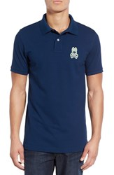 Psycho Bunny Men's 'Alto Bunny' Pima Cotton Pique Polo