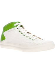 Paul And Joe Lace Up Trainer Green