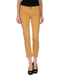 Shine Denim Pants Camel