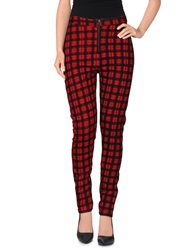 Freddy Casual Pants Maroon