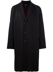 Rag And Bone Single Breasted Coat Black