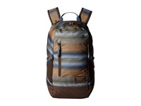 Burton Prospect Pack Beach Stripe Print Backpack Bags Brown