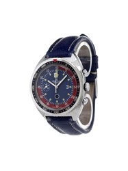 Breitling 'Football Chronograph' Analog Watch Stainless Steel