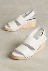 Anthropologie Matt Bernson Aylin Wedges White 5 Wedges
