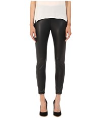 The Kooples Extra Stretch Nappa Pants Black Women's Casual Pants