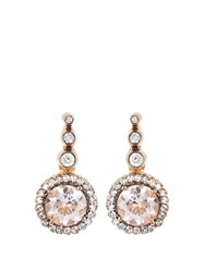 Selim Mouzannar Diamond Morganite And Pink Gold Beirut Earrings