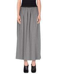 Joe Rivetto 3 4 Length Skirts Grey