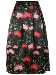 Erdem Carnation Print Midi Skirt Multicolour