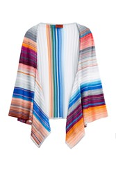 Missoni Stripe Knit Shawl