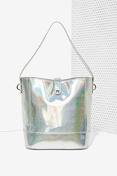 Nasty Gal Out Of This World Hologram Tote