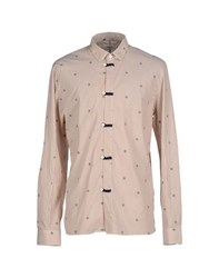 Eleven Paris Shirts Shirts Men Khaki