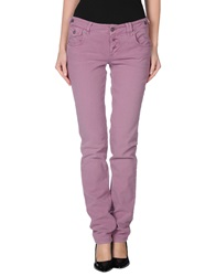 Galliano Denim Pants Purple