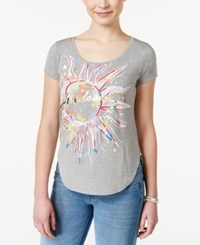Self Esteem Juniors' Sunburst Graphic T Shirt