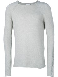 Lost And Found Rooms Crew Neck Sweater Grey
