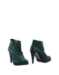 Opening Ceremony Footwear Ankle Boots Women Emerald Green