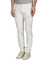 Entre Amis Men Denim Pants White