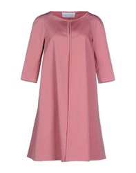 Gianluca Capannolo Coats And Jackets Full Length Jackets Women Pastel Pink