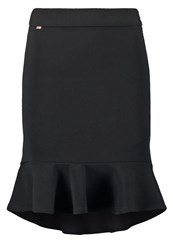 Morgan Japlon Aline Skirt Noir Black