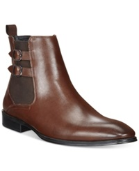 Alfani Rory Double Buckle Chelsea Boots Only At Macy's Men's Shoes