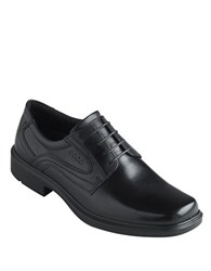 Ecco Helsinki Lace Up Loafers Black