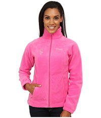 Columbia Tested Tough In Pink Benton Springs Full Zip Pink Ice Women's Jacket