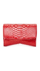Narciso Rodriguez Rachel Small Evening Clutch Scarlet