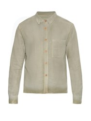 Simon Miller M105 Taos Cotton Shirt Light Grey