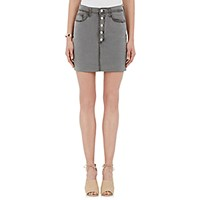J Brand Women's Distressed Rosalie Skirt Grey
