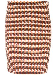 Opening Ceremony Patterned Fitted Skirt Multicolour