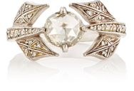 Cathy Waterman Women's Leaf And Vine Ring Colorless