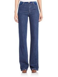 See By Chloe Washed Flare Jeans Washed Indigo