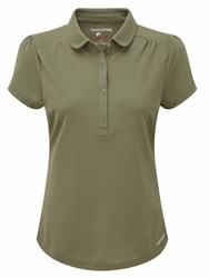 Craghoppers Nosilife Keisha Short Sleeved Polo Green