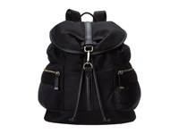 Calvin Klein Nylon Backpack Black Gold Backpack Bags