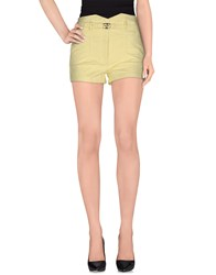 Ermanno Scervino Scervino Street Denim Denim Shorts Women Light Yellow